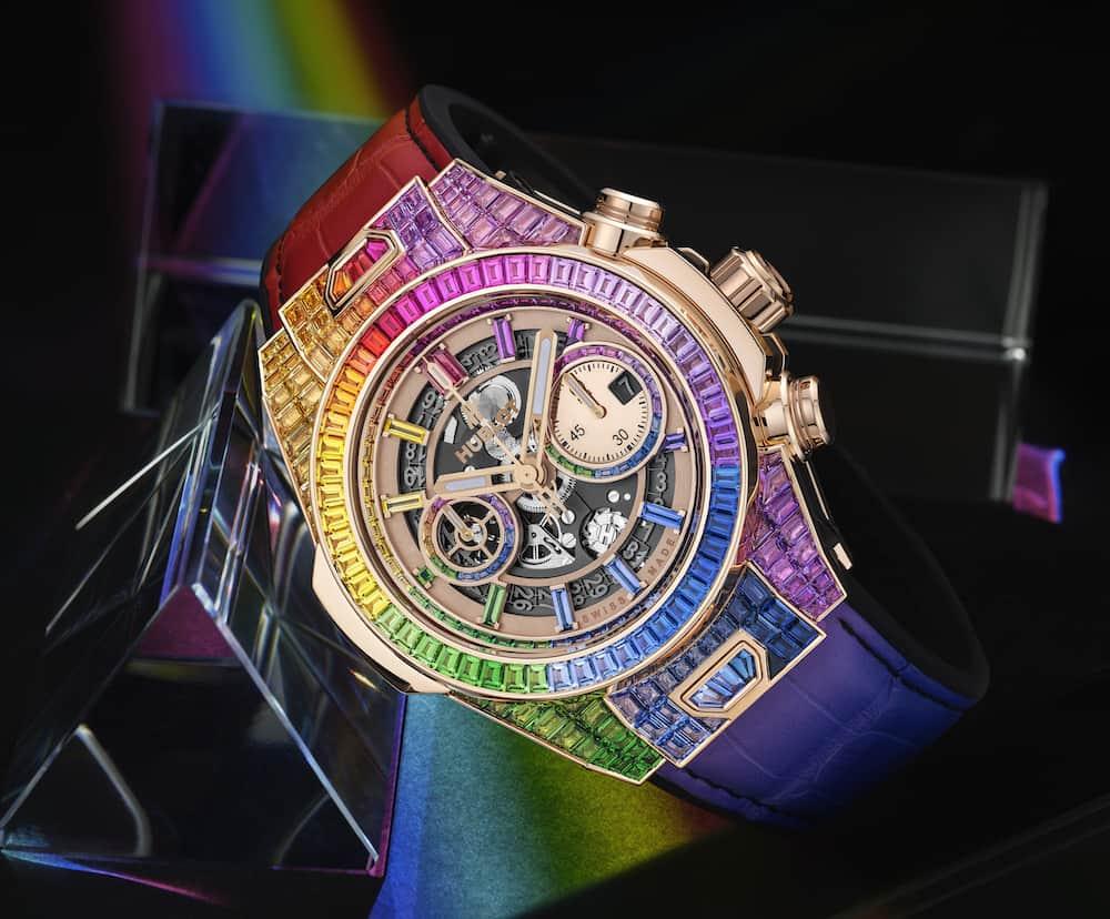 ساعت رنگین کمانی